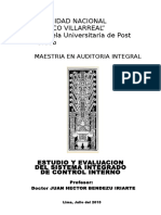 Maestria en Auditoria Integral - 2015