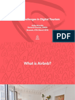 Airbnb Digital Tourism
