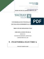 Especificaciones Tecnicas Tableros- Ingenieria Electrica