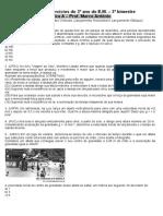 2 Lista de Exercicios Do 3 Ano EM 3 Bim 2011 FIS A