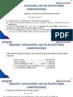 8.9 Analisis y Aplicacion Uso de Pilotes Para Cimentaciones Capacidad de Carga Para El Pilotaje