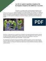 Empresa De Limpieza En la capital española Limpieza De Oficinas la capital de España Limpieza De Edificios Y Locales De