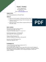 Jobswire.com Resume of bentleydanny