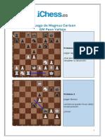 Problemas - El Juego de Magnus Carlsen
