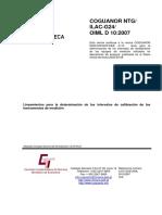 COGUANOR_NTG_ILAC _G24_OIML_OIML_D10_ 2007.pdf