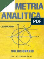 Solucionario Geometría Analítica de Charles H. Lehmann-San Marcos (1983) Castro Zárate, Juan_ González Chávez, Salome-