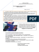 Guía de Lenguaje y Comunicación Nº1 - Género Narrativo - 7º