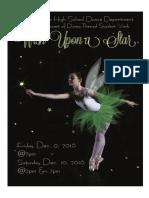1danceshowprogram