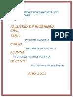 Informe Mecanica de Suelos II-calicatas