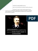 El Dios Muerto de Nietzsche en El Super Hombre d20nov20161200mdn