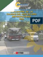EVALUACION CALIDAD DEL AIRE 2014