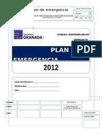 Plan de Emergencia -Granada