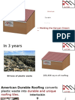 Alternative Building Materials Kenya Research
