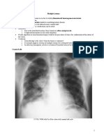 Pulmonary Metastasis and Pneumonia