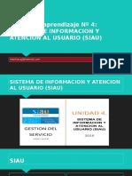 Sistema de Informacion y Atencion Al Usuario (Siau)