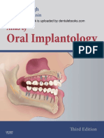 Atlas of Oral Implantology - E-Book Version to b(1)