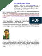 El Informe Black Español o Informe Navarro