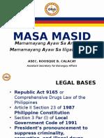 Masa Masid (Sulong Pilipinas) Revised as 09192016 9am