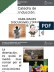 Habilidades Discursivas y Manejo de Publico