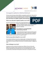 Mohd Sani Mohd Ismail, Unsung Gender Equality Hero, Asian Development Bank (ADB)