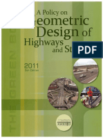 AASHTO a Policy on Geometric Design of Highway and Streets 2011 6th Ed (Green Book)