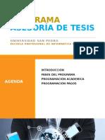 Agenda Pat 2016