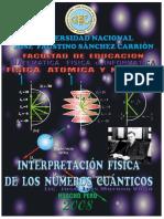 5 Interpretacion Fisica de Los Numeros Cuanticos