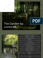 Analysis of HP Lovecraft's the Garden