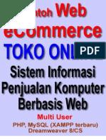Skripsi Toko Online - Desain dan Analisis Sistem Informasi Penjualan Komputer Berbasis Web
