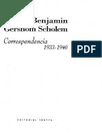 Benjamin Walter Scholem Gershom - Correspondencia 1933 - 1940.pdf