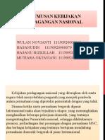 pi bab 9 perumusan kebijakan perdagangan nasional
