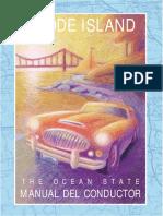 MANUAL DEL CONDUCTOR - RHODE ISLAND