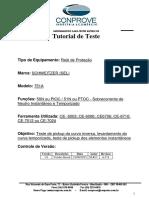 Tutorial Teste Rele SEL 751A Sobrecorrente de NEUTRO CTC