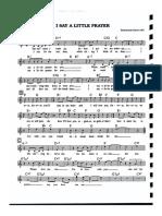 I Say a Little Prayer FakeBook.pdf