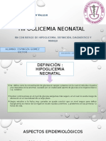 03. Hipoglicemia Neonatal