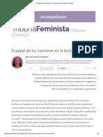 El Papel de Los Hombres en La Lucha Feminista _ Tribuna Feminista
