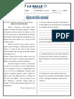 Atividades- Adjunto Adnominal e Adverbial