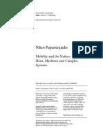 PAPASTERGIADIS, Nikos. Mobility and the Nation.pdf