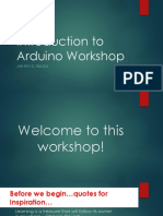 Intro to Arduino Workshop