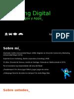 Marketing Digital Para Videojuegos y Apps