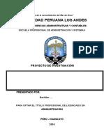 Proyecto de Tesis UPLA