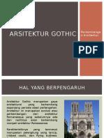Arsitektur Gothic Kelompok 12
