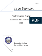 Audit report shows Nevada death penalty is costly