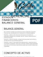 Balance General. Contabilidad Gerencial I. LAMVCH