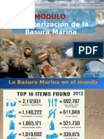 Caracterización de La Basura Marina