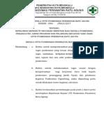 Sk Kewajiban Mengikuti Program Orientasi Bagi Kepala Puskesmas, Penanggung Jawab Program Dan Pelaksana Kegiatan