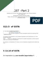 GST – Part 2