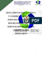 Reglamento Sedag-beni 25-11-2016