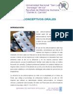 Anticonceptivos Orales Seminario Patologia