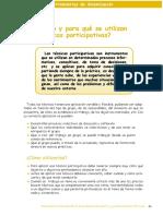 Qué son y para qué se utilizan las técnicas participativas